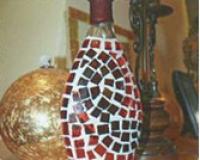Ваза из бутылки