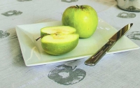 Печать фруктами