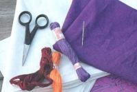 Аппликации по ткани