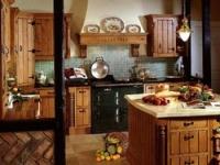 Деревенский стиль в интерьере кухни
