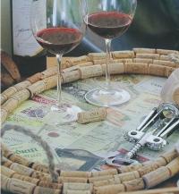 Поднос для сыра и вина