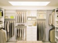 Освещение гардеробной комнаты