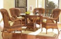 Плетеная мебель в доме