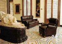 Элегантная роскошь кожаной мебели