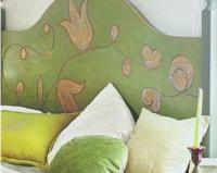Кровать: имитация мозаики